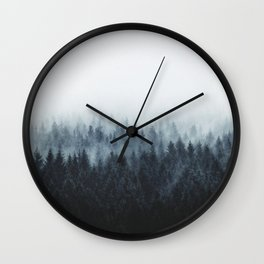 High And Low Wall Clock
