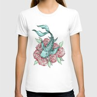 koi fish T-shirts featuring Koi Fish by Bare Wolfe