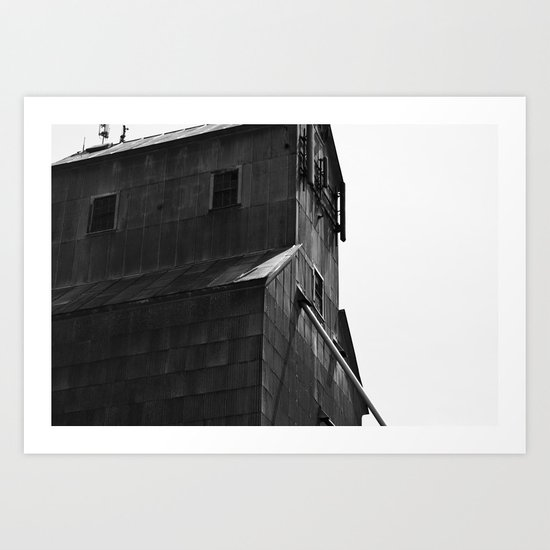 Grain Tower Art Print