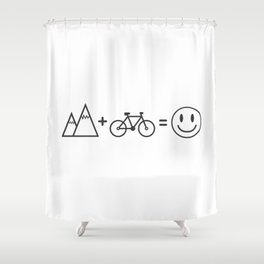 Bicycle Bike fixie gift gym sport bmx to bike Shower Curtain
