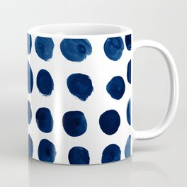 Blue Dots Coffee Mug