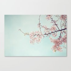 Spring happiness Canvas Print
