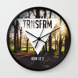 TRNSFRM (2) Wall Clock