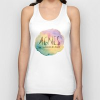 agnes Tank Tops featuring Agnes in Wonderland by Agnes in Wonderland