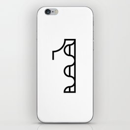 Number One iPhone Skin