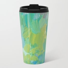 Blue Garden Travel Mug