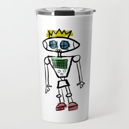 Robot Prince(ss)/Binary is for Code, Not Gender Travel Mug