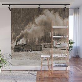 Steam Hauled Train - Engine 486 Wall Mural