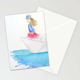 My boat, my rules Stationery Cards