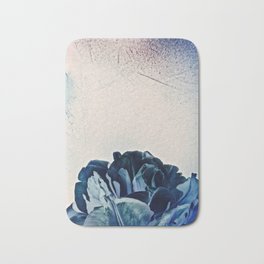 Blue Tulip- Scratched And Grungy Bath Mat