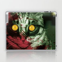 Zombie Kitty Laptop & iPad Skin