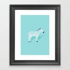 Animal Kingdom: Zebra II Framed Art Print
