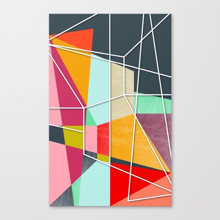 ColorBlock V Canvas Print