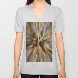 Square Dice Unisex V-Neck