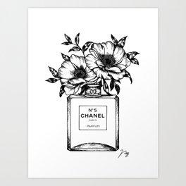 Foral Fragrance Art Print