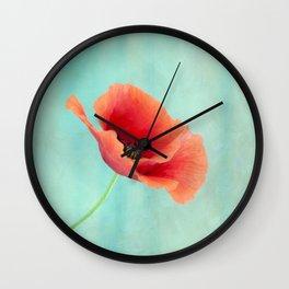 pavot I Wall Clock