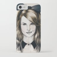 minnie iPhone & iPod Cases featuring Minnie by Seventy Two Studio