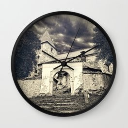 Somewhere in the countryside Wall Clock