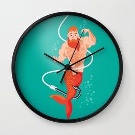 Ivo Mermen Wall Clock