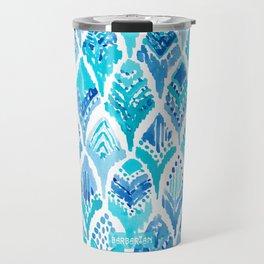 MAGICAL MERBIRD Mermaid Feather Print Travel Mug