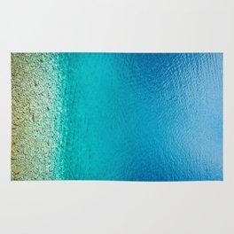 turquoise II. Rug