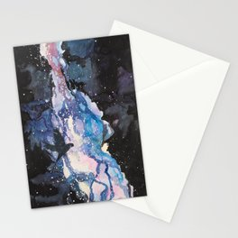A Parakeet In the Stars Stationery Cards