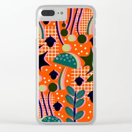 When autumn turns to winter Clear iPhone Case