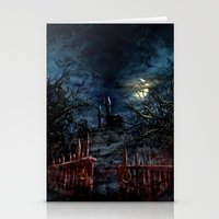 castlevania Stationery Cards featuring Castlevania: Vampire Variations- Gates by LightningArts
