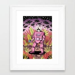 The Dead Spaceman Framed Art Print