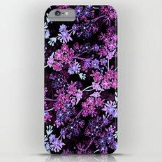 Pink & Purple Floral Pattern iPhone 6 Plus Slim Case