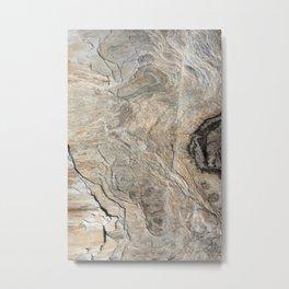 Nature's Stone Pattern II (Norway) Metal Print