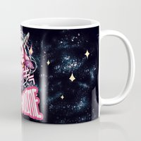 anime Mugs featuring BAD ANIME by mosaur