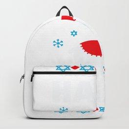Happy Llamakah Llama Hanukkah Backpack