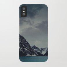 Lake Louise Winter Landscape Slim Case iPhone X