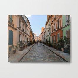 Colorful Paris Metal Print