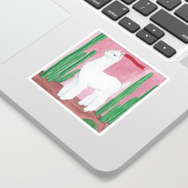 Cool Lama Sticker