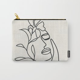 Abstract Minimal  Woman II Carry-All Pouch