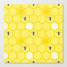 Honey Bees Canvas Print