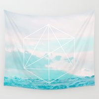anchor Wall Tapestries featuring Anchor by 83 Oranges™