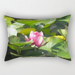 Nymphaea lotus Rectangular Pillow