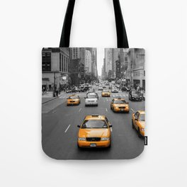 New Yorks Yellow Army Tote Bag