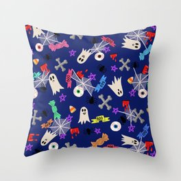 Maybe you're haunted Throw Pillow