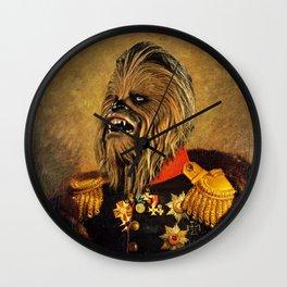Portrait of Master Chewie Wall Clock