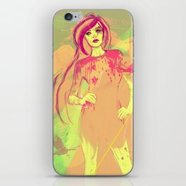 girl tattoo iPhone Skin