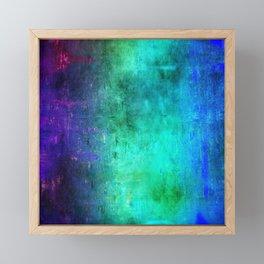 Abstract Coding Framed Mini Art Print