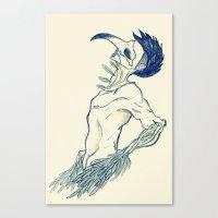 birdman Canvas Prints featuring Birdman by DogoD Art