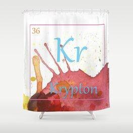 Elementals: Krypton Shower Curtain