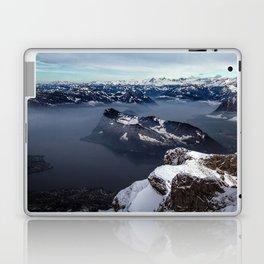 Lake Lucerne & the Alps Laptop & iPad Skin