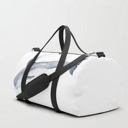 Bottlenose dolphin jump Duffle Bag