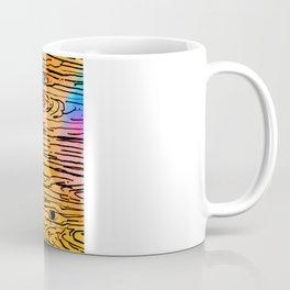 Technicolored Dream Plank Coffee Mug